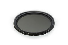 Neutral density photographic filter. (ND) with variable density royalty free stock images