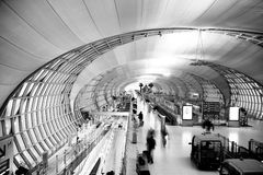The neutral experience of airport Royalty Free Stock Photo