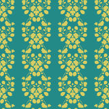 Neutral floral background. swirl and curve Royalty Free Stock Photography