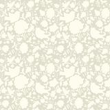 Neutral floral ornament. Beige plant Stock Photo