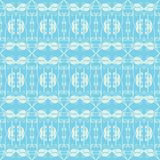 Neutral floral ornament. cool blue Royalty Free Stock Images