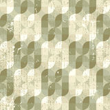 Neutral frayed textile geometric seamless pattern, decorative ab Royalty Free Stock Image