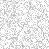 Neutral  handmade background from lines in vector Stock Photos