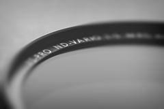 Neutral ND filter for digital camera lenses. Stock Photography
