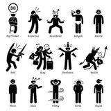 Neutral Personalities Character Traits Clipart Royalty Free Stock Photo