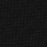 Neutral sömlös linjär krusidullmodell för Retro design Royaltyfri Foto