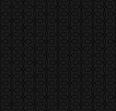 Neutral sömlös linjär krusidullmodell för Retro design Royaltyfri Fotografi
