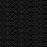 Neutral sömlös linjär krusidullmodell för Retro design Fotografering för Bildbyråer