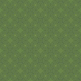 Neutral Seamless Linear Flourish Pattern. Royalty Free Stock Photography