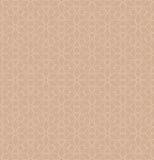 Neutral Seamless Linear Geometric Pattern. Royalty Free Stock Image