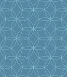 Neutral Seamless Linear Pattern. Tileable Geometric Outline Ornate. Stock Image