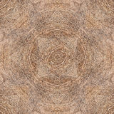 Neutral Seamless Square Hard Wood Parquet Floor Pattern With Tri. Angles and Concentric Annual Growth Rings Royalty Free Stock Photography