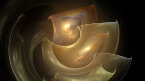 Neutral spiral candles abstract background Stock Image