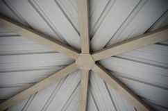 Neutral star. Ceiling construction resembling a neutral star Stock Images
