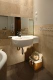 Neutral Toned Bathroom Stock Images