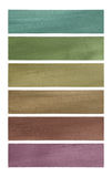 Neutral tones coconut paper banner set Royalty Free Stock Images