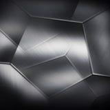 Neutrale achtergrond van de metaal de donkere textuur Royalty-vrije Stock Foto's