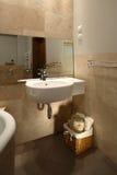 Neutrale Gestemde Badkamers stock afbeeldingen