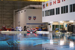 Neutraler Auftriebs-Labor - Johnson Space Center lizenzfreies stockbild
