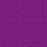 Neutrales geometrisches nahtloses purpurrotes Muster Stockfoto