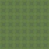 Neutrales nahtloses Celtic Knotwork-Muster Stockbilder