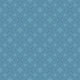 Neutrales nahtloses lineares Flourish-Muster Stockbild
