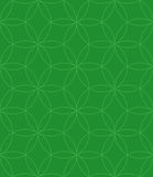 Neutrales nahtloses lineares Muster Geometrischer Kreis-Vektor Backgr Stockfotos