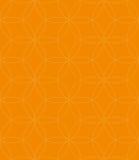 Neutrales nahtloses lineares Muster Geometrischer Kreis-Vektor Backgr Stockbild