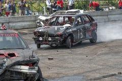 Neutralização destruída dos carros Fotos de Stock