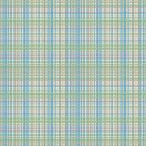 Neutralny Błękitny szkockiej kraty tło Zdjęcie Stock