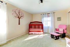 Neutralny koloru dziecka pepiniery pokój Obraz Royalty Free