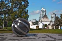 Kungliga botanisk trädgård, Melbourne, Australien Royaltyfria Bilder