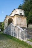 Neuvième chapelle chez Sacro Monte di Varese l'Italie images stock