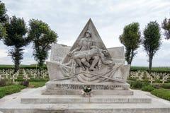 NEUVILLE SAINT-VAAST, FRANCE/EUROPE - 12 DE SEPTIEMBRE: La Targette Imagen de archivo libre de regalías