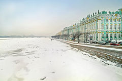 neva宫殿冬天 免版税库存照片