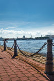 Neva embankment St. Petersburg, Russia Royalty Free Stock Images