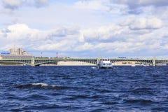 Neva flod Royaltyfria Bilder