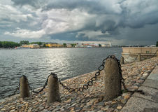 Neva flod Arkivfoto