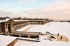 Neva gate of the Peter and Paul fortress Royalty Free Stock Photography