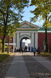 Neva Gate, Peter and Paul Fortress, St  Petersburg Royalty Free Stock Image