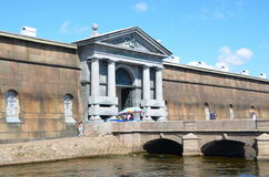Neva Gate, Peter and Paul Fortress, St  Petersburg Royalty Free Stock Images