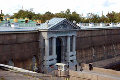 Neva Gates of Peter and Paul Fortress Royalty Free Stock Photo