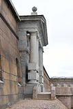 Neva gates of Peter and Paul Fortress. Royalty Free Stock Photos