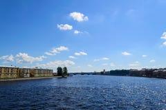 neva Petersburg st Fotografia Stock