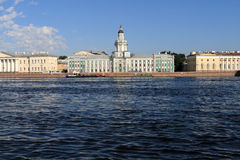 Neva river. In st. Petersburg in summer, Russia royalty free stock image