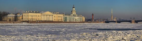 The Neva River Royalty Free Stock Photos