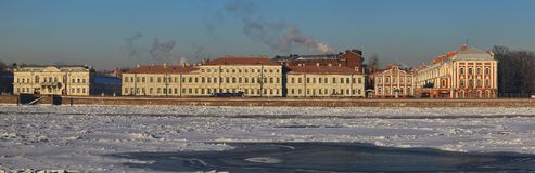 The Neva River Royalty Free Stock Images