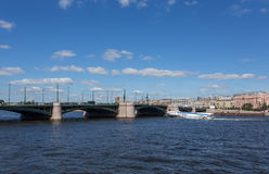 Neva River Royalty Free Stock Images