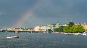 Neva river Stock Images