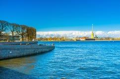 Neva River Royalty Free Stock Photography